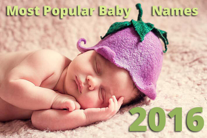 Most Popular Baby Names of 2016