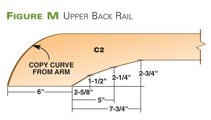 Upper Back Rail