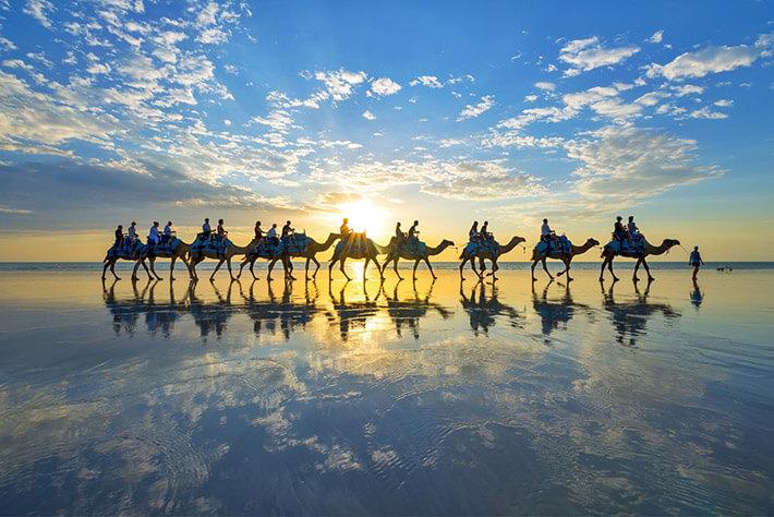 Broome to Perth, Western Australia
