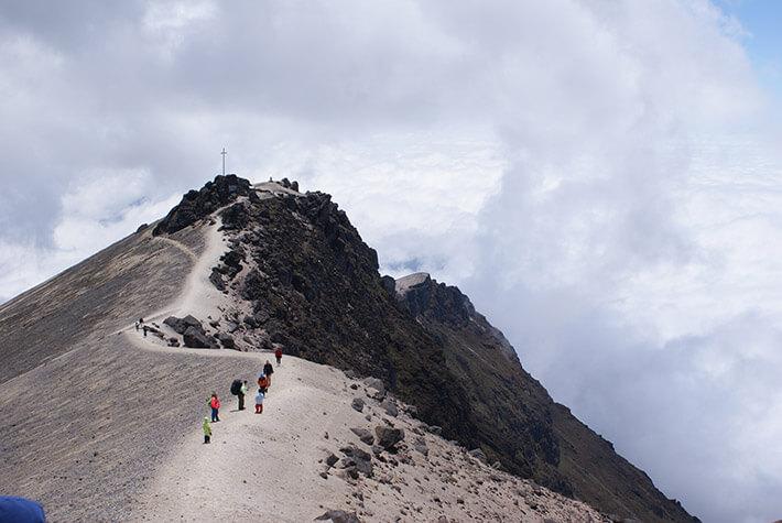 Guagua Pichincha volcano