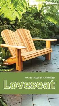 How to Make an Adirondack Loveseat