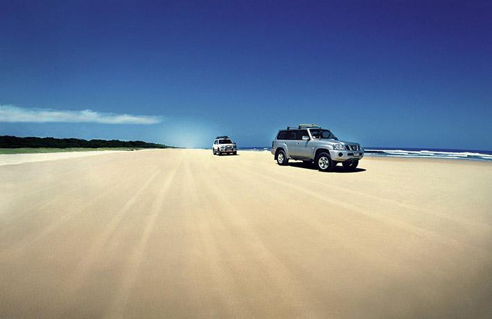 The 75 Mile Highway, Fraser Island