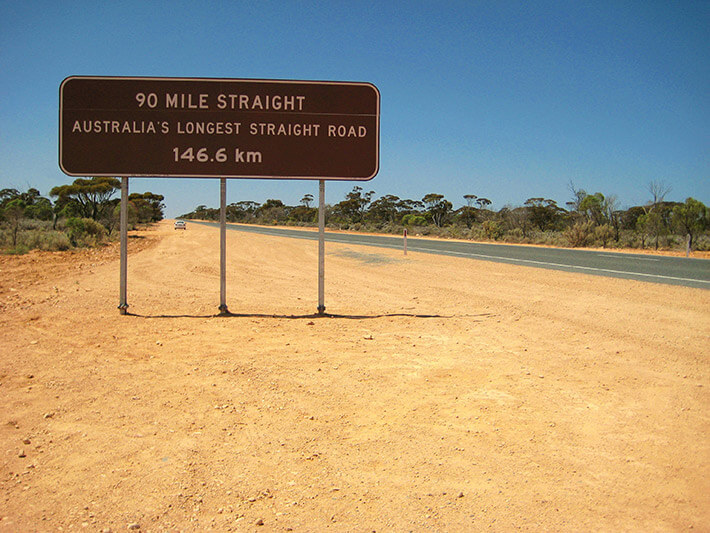 The Nullarbor road trip