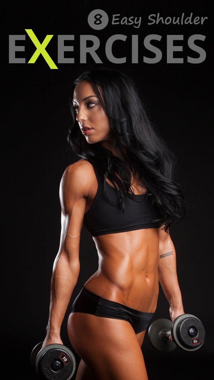 8 Easy Shoulder Exercises