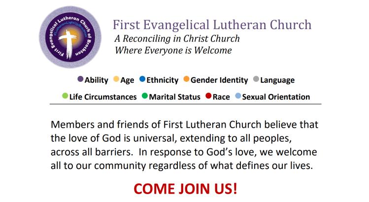 A New RIC Community: First Evangelical Lutheran Church (Brockton, MA)