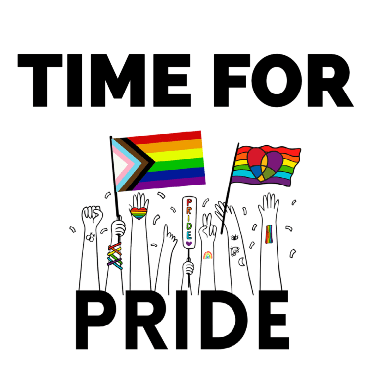 Get ready for PRIDE!
