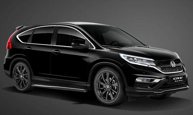 Honda CR V In Black