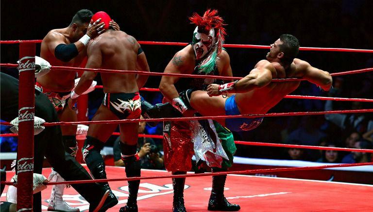Un gran ambiente que se vivió en el Mundial de Lucha Libre 2015