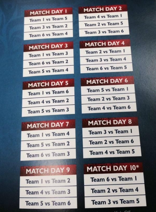 Así sería el calendario del Hexagonal Final de Concacaf