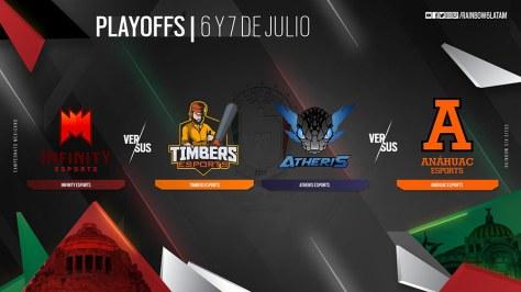Resultado de imagen para playoffs Campeonato Mexicano de Rainbow Six Siege