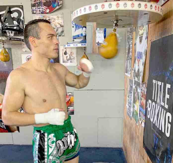 Julio Cesar Chavez Jr training