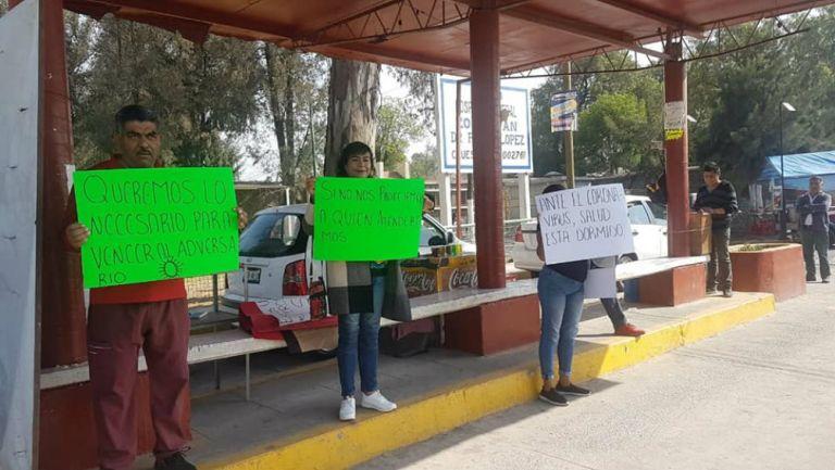 Enfermeras y médicos en Edomex protestaron ante falta de insumos ...