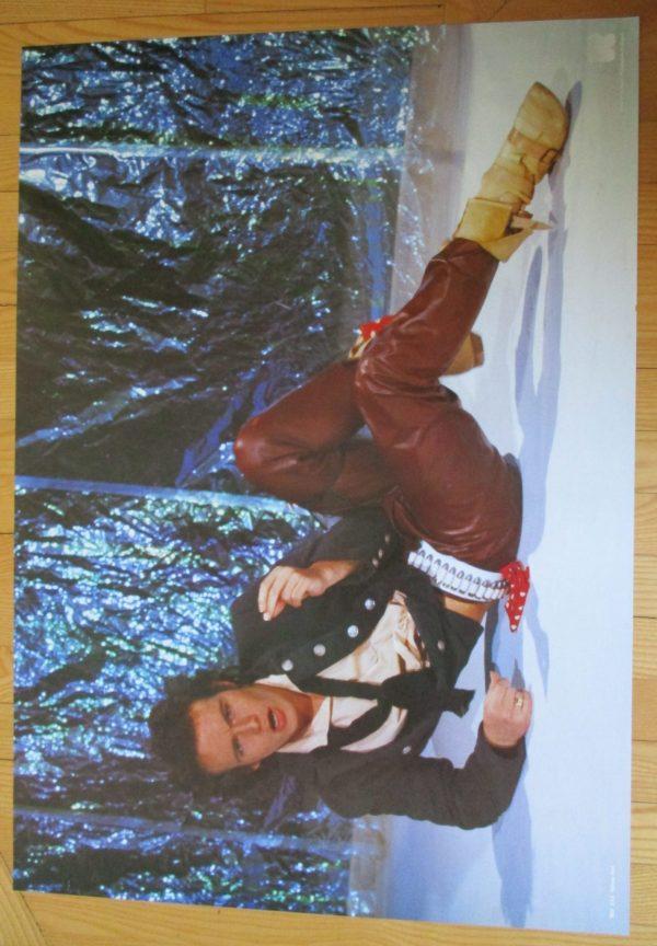 "ADAM ANT Vintage Poster 23"" x 33"" Holland"