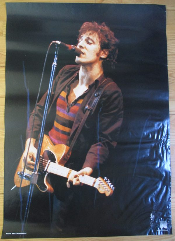 SPRINGSTEEN, BRUCE Vintage Poster 33″ x 24″ Original Holland #1