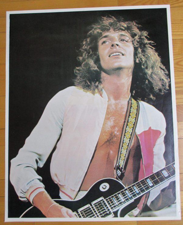 """FRAMPTON, PETER Vintage Poster 1970's Original 29"""" x 23"""""""