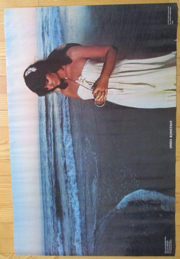 RONSTADT, LINDA Vintage 1978 Poster 34″ x 23″ Original ONE STOP