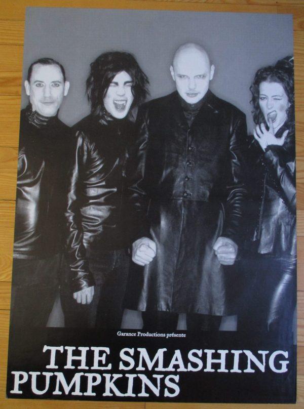 SMASHING PUMPKINS Vintage Poster 33″ x 23″ Original