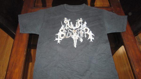 NUNSLAUGHTER DEATH METAL T-SHIRT 2004 LRG