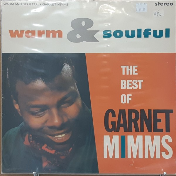 "MIMMS, GARNET - ""Warm & Soulful, The Best Of..."" - UK pressing"