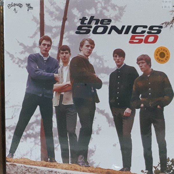 "SONICS, THE - ""50"" - SEALED 3xLP BOXSET"
