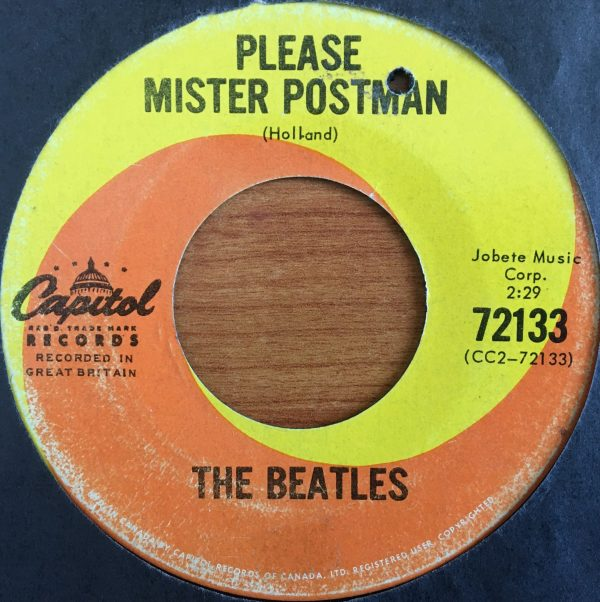 BEATLES, The – Canadian 45 RPM – 5964 – PLEASE MISTER POSTMAN / ROLL OVER BEETHOVEN