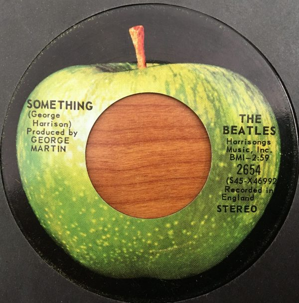 BEATLES, The – Canadian 45 RPM – 2654 – SOMETHING / COME TOGETHER