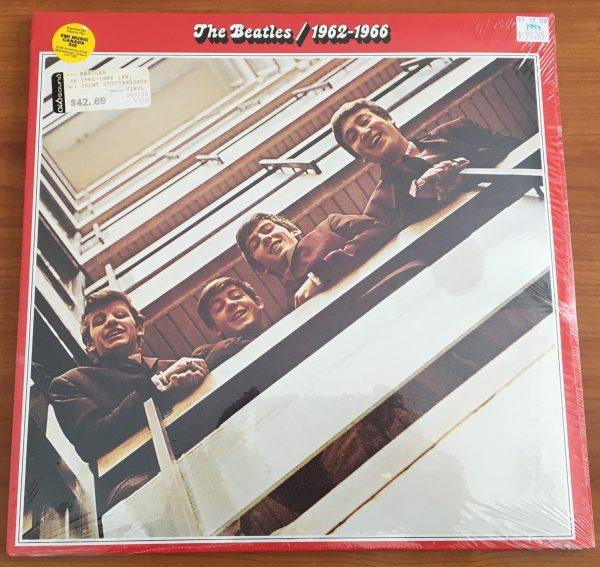 "BEATLES, The ""1962-1966"" Vintage LP x2 (1994 UK Apple Press) SEALED"