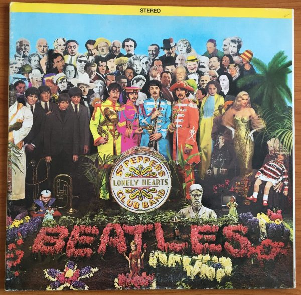 "BEATLES, The ""Sgt. Pepper's Lonely Hearts Club Band"" Vintage LP (Canada Orange Label)"