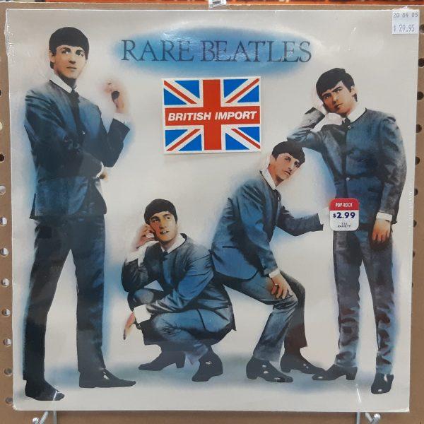 "BEATLES, THE – ""Rare Beatles"" Vintage UK LP SEALED"