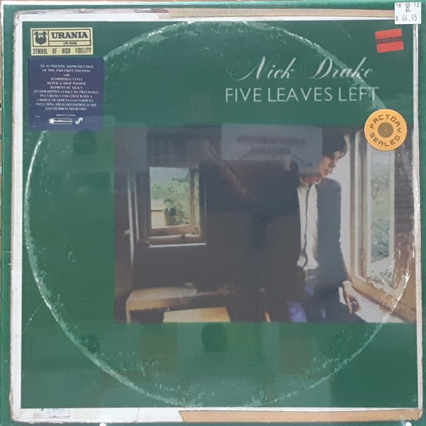 "DRAKE, NICK - ""Five Leaves Left"" - Special Box Format SEALED"