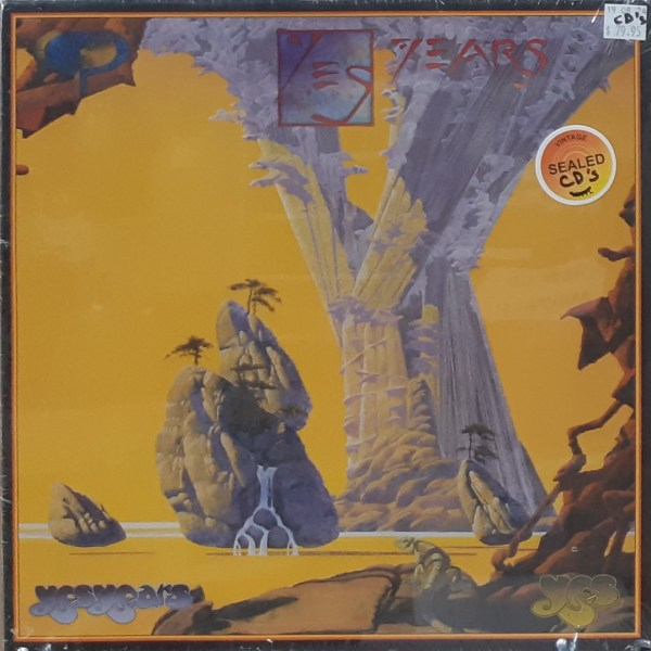 """YES - """"Yes Years"""" - Sealed 4xCD Set"""