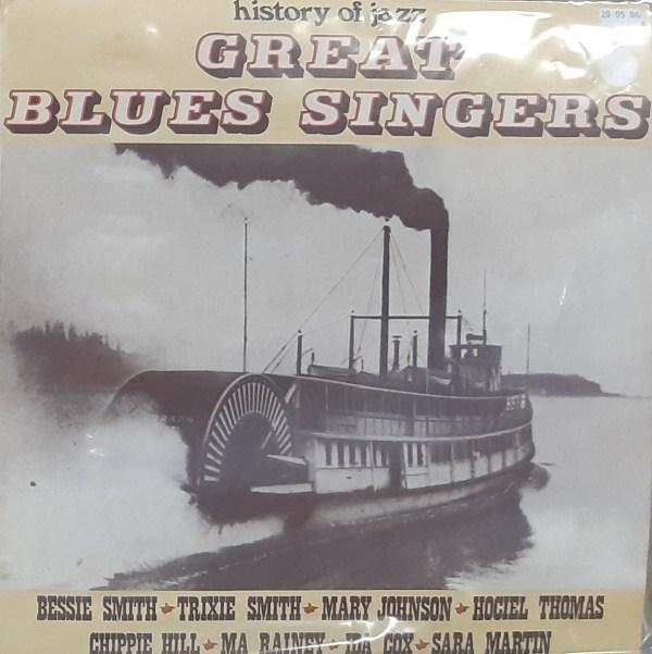 GREAT BLUES SINGERS - Various Artists - Vintage LP
