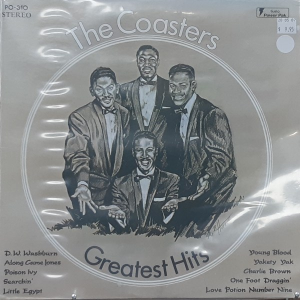 "COASTERS, THE - ""Greatest Hits"" - Vintage LP"