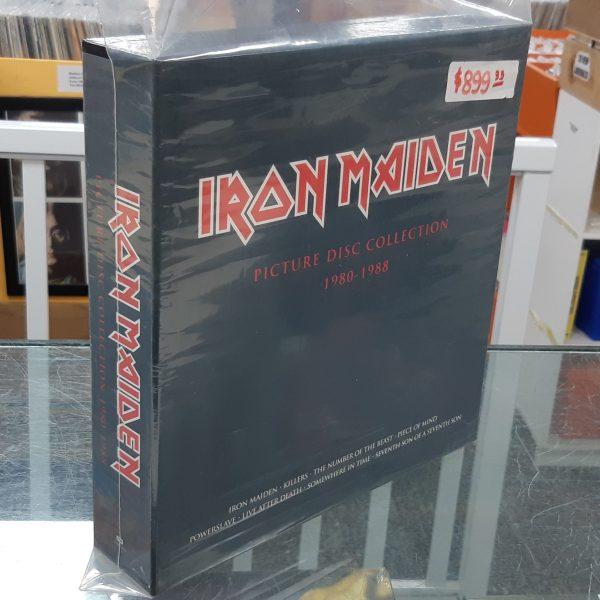 "IRON MAIDEN - ""Picture Disc Collection"" - 9xLP BOX SET"