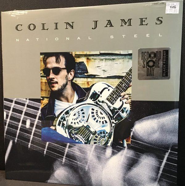 """JAMES, COLIN – """"National Steel""""  Sealed LP"""
