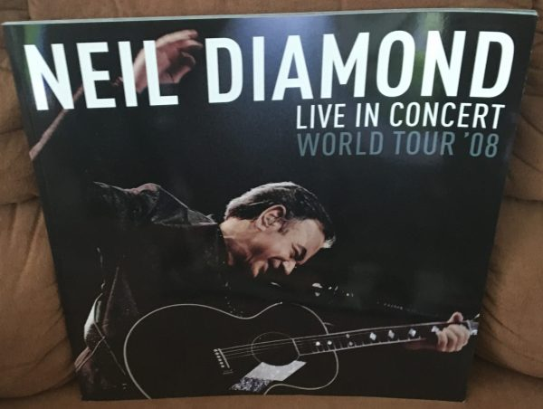 "DIAMOND, NEIL – Tour Book Concert Program ""World Tour '08"" (2008)"