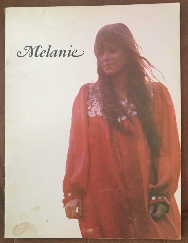 MELANIE – Tour Book Concert Program (1971)
