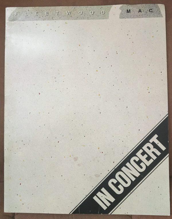 """FLEETWOOD MAC – Tour Book Concert Program """"Tusk Tour"""" (1979)"""