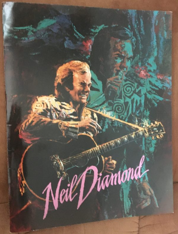 "DIAMOND, NEIL – Tour Book Concert Program ""Lovescape Tour"" (1991)"