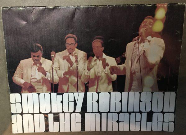 ROBINSON, SMOKEY & THE MIRACLES – Tour Book Concert Program (1972)