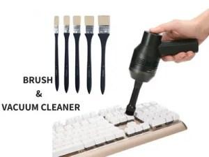 VACUUM CLEANER AND BRUSH