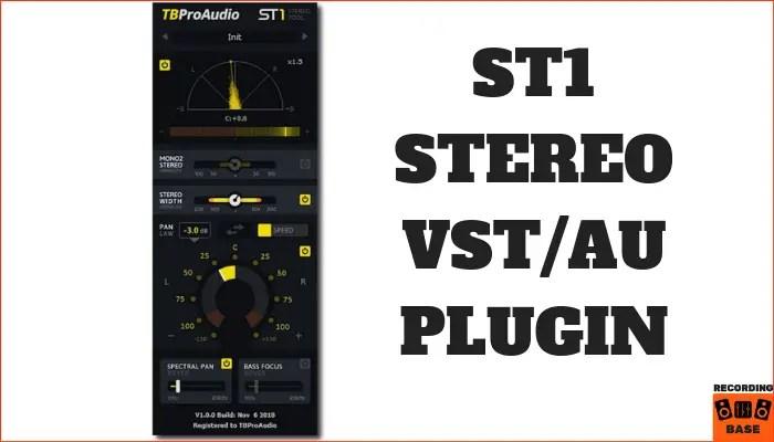 ST1 Stereo VST AU Plugin