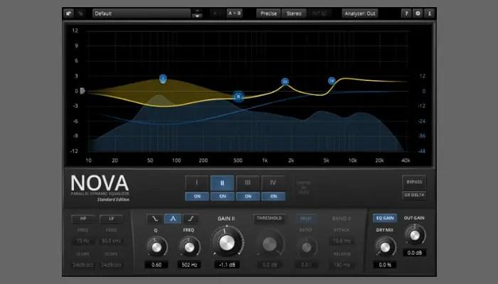 TDR Nova equalizer plugin