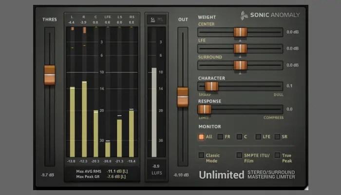 Unlimited Limiter plugin