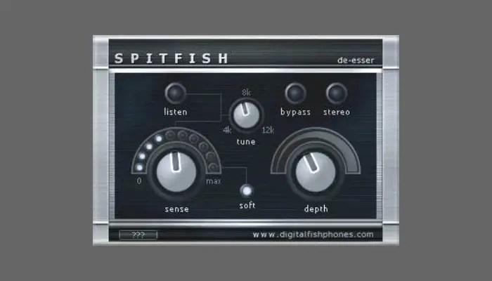 spitfish deesser plugin