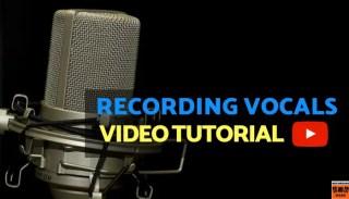 Recording Vocals in the Studio video tutorial
