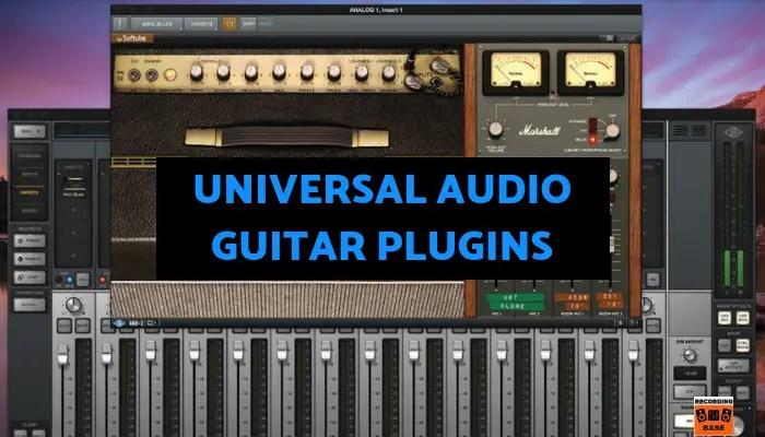 Universal Audio guitar plugins