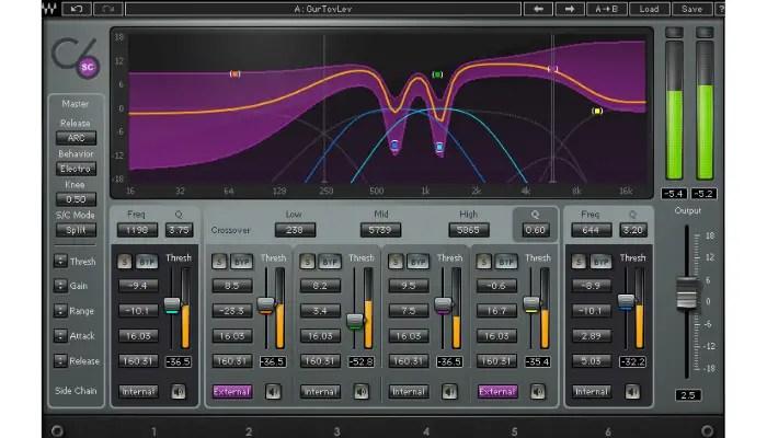 Waves Audio C4
