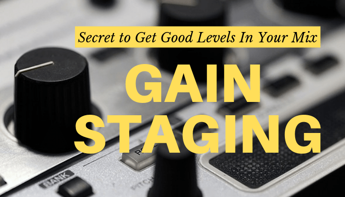 gain staging technique
