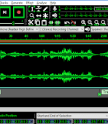 audacity music workstation